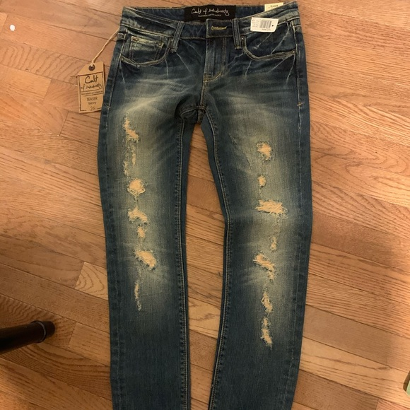 Cult of individuality skinny jeans